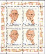 PENRHYN 2012 - Canonisation Du Pape Jean Paul II - Feuillet Neufs // Mnh // CV 24.00 - Penrhyn