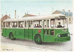 IMAGE CIBON -- Série éducative -- L'histoire De La Voiture  -- Autobus Moderne  -- N° 767 - Other