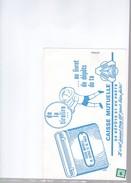 1 Buvard  : Compagnie  :  Caisse Mutuelle - Buvards, Protège-cahiers Illustrés