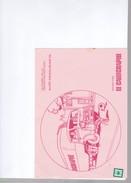 1 Buvard  : Conseil Prévention Routière : Offert Par Le Calligraphe - Transport