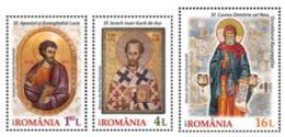 Romania 2017 / SOLEMN EVENTS / Set 3 Stamps - 1948-.... Republics