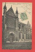 """C.P.A. (93 )  """" SAINT-DENIS """" Abbaye - Transept De La Façade Gauche . Rosace Du X IIIe Siècle   Voir 2 Photos. - Saint Denis"""