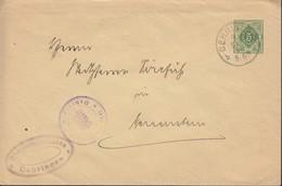 WÜRTT. DU 45 A I A, Gestempelt:  Öhringen 4.SEP 1916 - Wuerttemberg