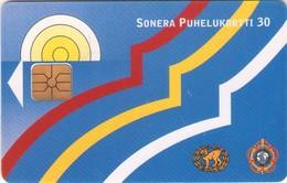 TARJETA TELEFONICA DE FINLANDIA. (502). - Finlandia