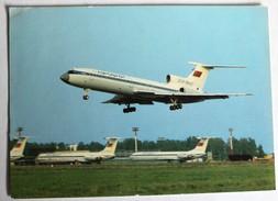 CPM Avion Russe TU-154 Tupolev Soviet Airlines 1983 CCCP - 1946-....: Moderne