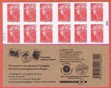 N° 4197-C 19 Y.T. Neuf** Carnet Type Marianne De Beaujard  N° 090 RGR-2 - Booklets