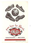 Buvard HUNGARIA Pour Tous Les Sports Chaussures Et Ballons - Sports