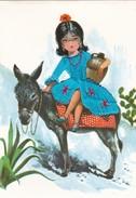 (Alb 1.3) Cartes Postale Habillée Ou Brodée (Possibilité De Joindre Deux Cartes Pour Moins De 20 Gr) - Cartes Postales