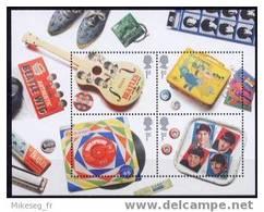 Grande-Bretagne 2007 Feuillet Neuf ** En Hommage Aux Beatles - Chanteurs