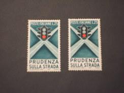 ITALIA REPUBBLICA - 1957 STRADA 1° E 2° Tipo - NUOVI(++) - 1946-60: Nuovi