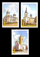 Moldova (Transnistria) 2017 No. 785/87 Churches Of Transnistria MNH ** - Moldawien (Moldau)