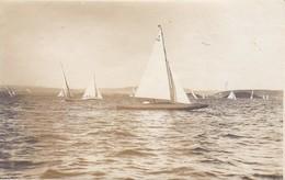 "AK Foto 22qm Kreuzer ""Sally II"" - Segelboote - Ca. 1920 (31314) - Segelboote"