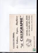 2 Buvards  : Le Calligraphe - Stationeries (flat Articles)