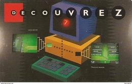 -CARTE-PASS-GEODE-1998-DE COUVREZ 4-ELECTRONIQUE-V° SPEOS N°01069707-TBE - Tickets D'entrée