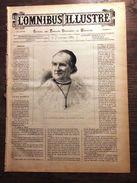 REVUE 1887 6 FEVRIER OMNIBUS ILLUSTRE CARDINAL CAVEROT GAND EGLISE SAINT NICOLAS LONDRES LA TAMISE - Magazines