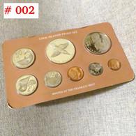 COOK Set 1 2 5 10 20 50 Cent 1 5 $ 1976 Box - Cook