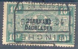Dagbladzegel Journaux Centrale Stempel Binche - Journaux