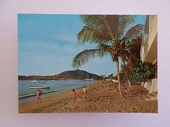 VENEZUELA ISLA DE MARGARITA PLAYA DE JUAN GRIEGO 1960 YEARS POSTCARD Z1 - Postcards