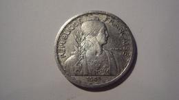 MONNAIE INDOCHINE 20 CENTIMES 1945 - Colonie