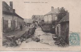 Mamers - Catastrophe Du 7 Juin 1904 - Destruction Des Lavoirs Et Du Quai Dubouillon - Mamers