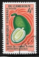 Cameroun, Scott # 463,465 Used Breadfruit,Mango, 1967 - Cameroon (1960-...)