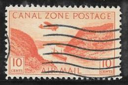 Canal Zone, Scott # C9 Used Gaillard Cut, 1931 - Canal Zone