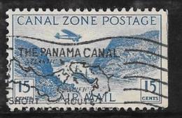 Canal Zone, Scott # C10 Used Gaillard Cut, 1931 - Canal Zone