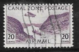 Canal Zone, Scott # C11 Used Gaillard Cut, 1931 - Canal Zone