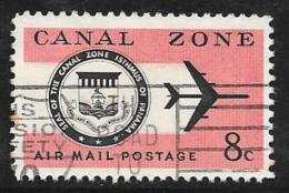 Canal Zone, Scott # C43.C48,C49 Used CZ Seal, Plane, 1965,1968,1971 - Canal Zone