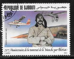 Djibouti, Scott C205 Used Bleriot Flight 75th Anniv., 1984 - Djibouti (1977-...)