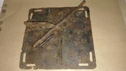 Rare Plaque Degoupilleur Allemande - 1914-18