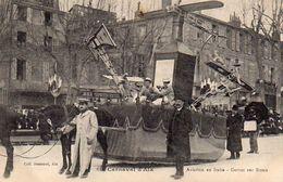 710Ax   13 Aix En Provence Carnaval 1912 Aviation Avion Garros Sur Rome - Aix En Provence