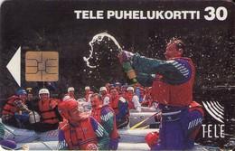 TARJETA TELEFONICA DE FINLANDIA. (554). - Finlandia