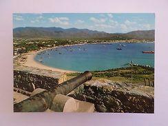 VENEZUELA ISLA MARGARITA VISTA HACIA LA BAHIA DE JUAN GRIEGO 1960 YEARS PC Z1 - Postcards