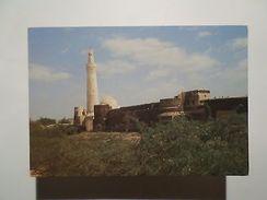 ADVERT TOURISM POSTCARD YEMEN ASIA ASIE ZABID MINARET & CITY WALLS 1960 YEARS Z1 - Postcards