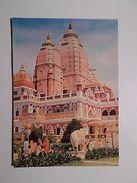 ASIA ASIE INDIA DELHI BIRLA  MANDIR HISTORY ARCHITECTURE 1970 YEARS POSTCARD Z1 - Postcards
