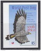 South Africa 1998 World Post Day M/s ** Mnh (29694A) - Blokken & Velletjes