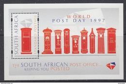 South Africa 1977 World Post Day M/s ** Mnh (34343) - Blokken & Velletjes