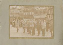 Photographique - Remise Décorations - 1914-1918 - Bleu Horizon - Brasserie Gruber & Cie - Photographe Bordelais - Guerre, Militaire