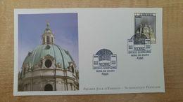 FDC - N°4855 -Capitales Européennes - Vienne La Karlskirche - 2010-....