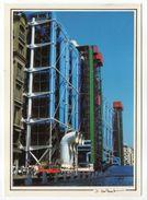 PARIS 4° --1989-- Centre National D'Art Et De Culture Georges Pompidou....Beaubourg Ou L'Art Moderne (voiture) - Arrondissement: 06