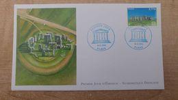 FDC - N°154 -UNESCO Stonehenge - Angleterre - 2010-....
