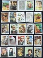 1999  Millenium Collection All 68 Stamps From The Milleniun Souvenir Sheets Sc 1818-34 And 1812-4 - 1952-.... Règne D'Elizabeth II