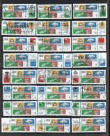 1997  Industrial Design Sc 1654  Set Of 24 With Each Attached Label - 1952-.... Règne D'Elizabeth II