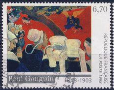 3207  VISION  TABLEAU De P GAUGUIN  OBLITERE ANNEE 1998 - Frankreich