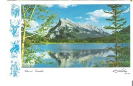 2 Back To Pictures The Cave And Basin Swimming Pool And Mount Rundle, Banff, Alberta - Géographie