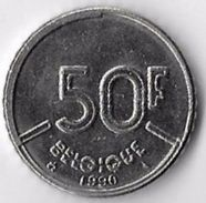 Belgium 1990 50 Francs (French) [C738/2D] - 1951-1993: Baudouin I