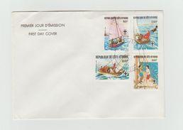 FDC 1982 - Anniversaire Du Scoutisme - Costa D'Avorio (1960-...)