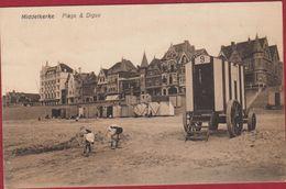 Middelkerke Plage Et  Digue Spelende Kinderen Strand Enfants - Middelkerke