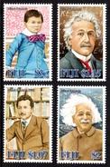 FIJI 2005 50th Death Anniversary Of Albert Einstein: Set Of 4 Stamps UM/MNH - Fiji (1970-...)